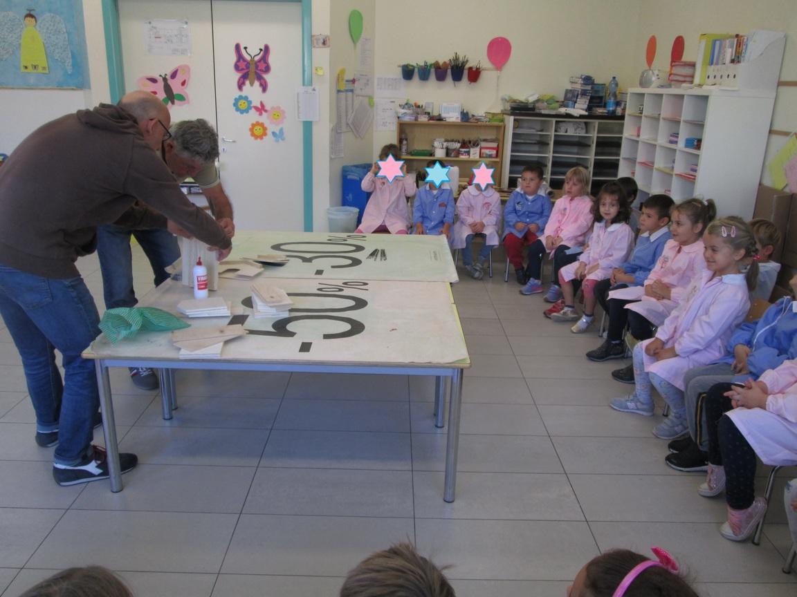 Laboratorio di falegnameria - Sez. Farfalle
